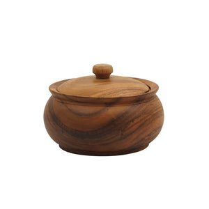 Acacia Rice Pot Plain