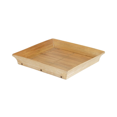Bamboo Square Tray - Natural - TESOROS