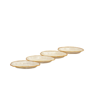 Capiz Mini Dish Shell Set of 4