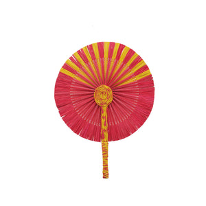 Kinwa Colored Fans - Red/Yellow