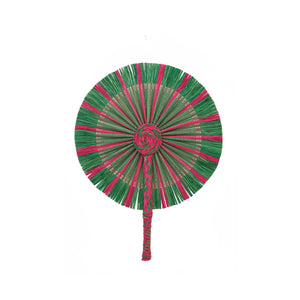 Kinwa Colored Fans - Pink/Green