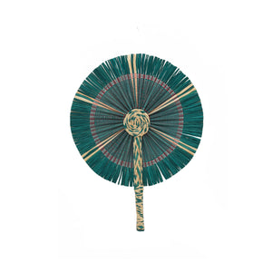 Kinwa Colored Fans - Green/Nat