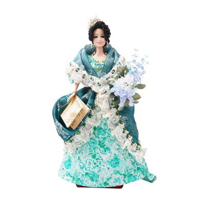 Filipiniana Doll - Blue/Green - TESOROS
