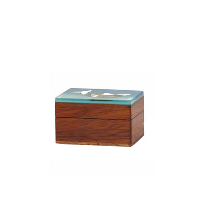 Small Laminated Wooden Box
