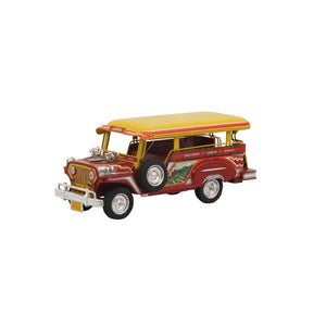 Promite Jeepney - Red/Yellow