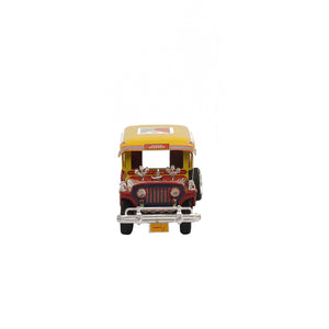 Promite Jeepney with Flag Red/Yellow