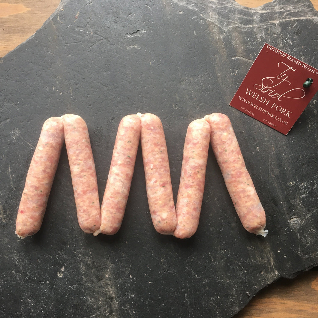 Handmade Original Pork Sausages