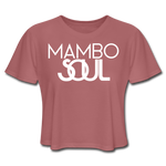 Load image into Gallery viewer, Women's Mambo Soul Crop Top - mauve