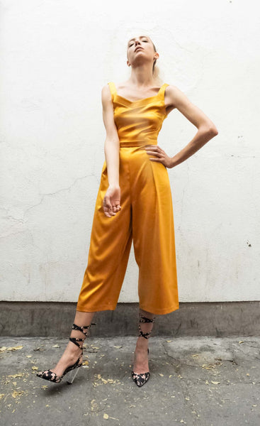 The Maia Jumpsuit Silk