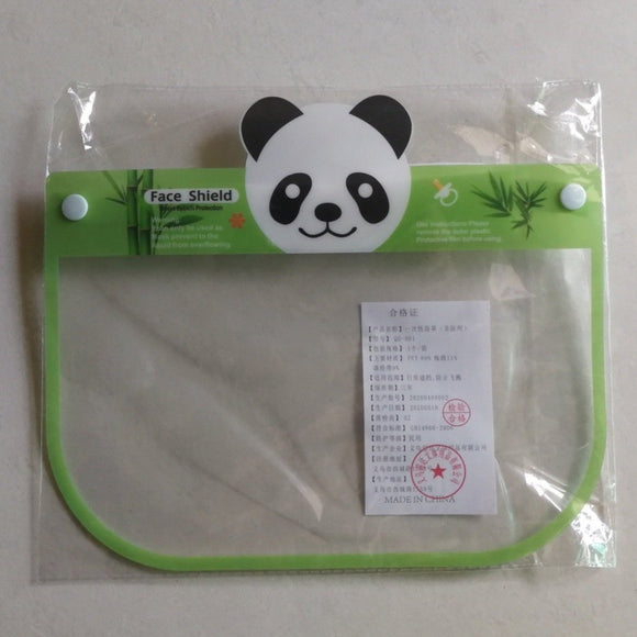 'Panda' Face Shield for Kids