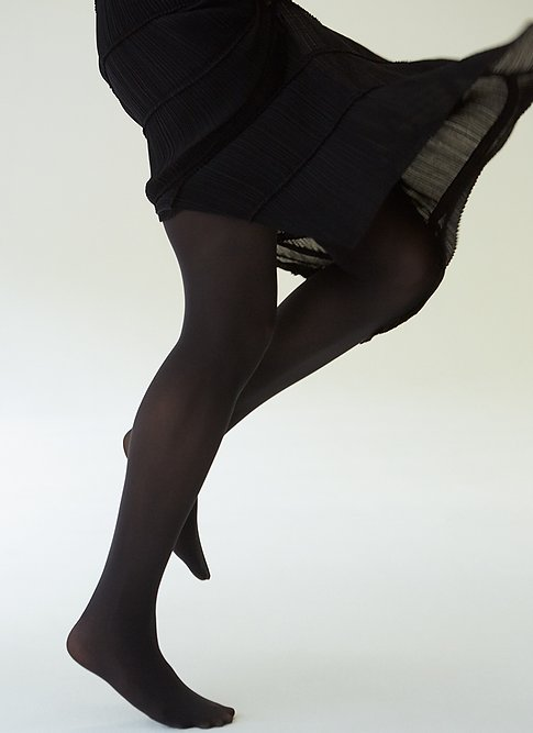 Lia Tights - Nearly Black
