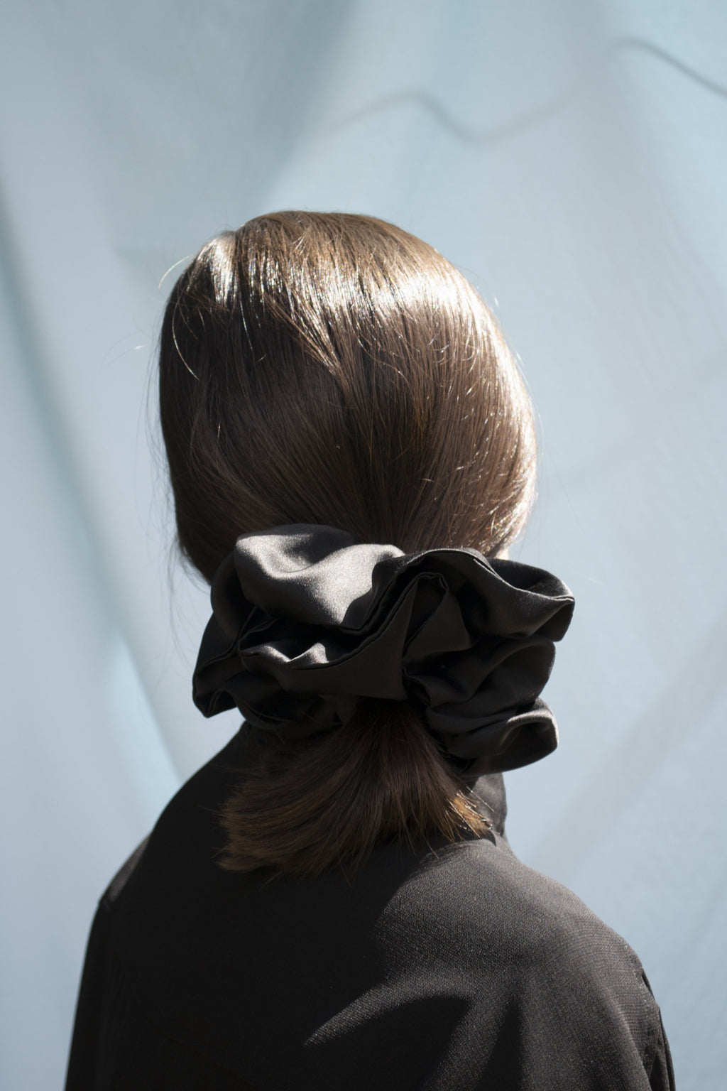 Mega Scrunchie - Volume Silk Black