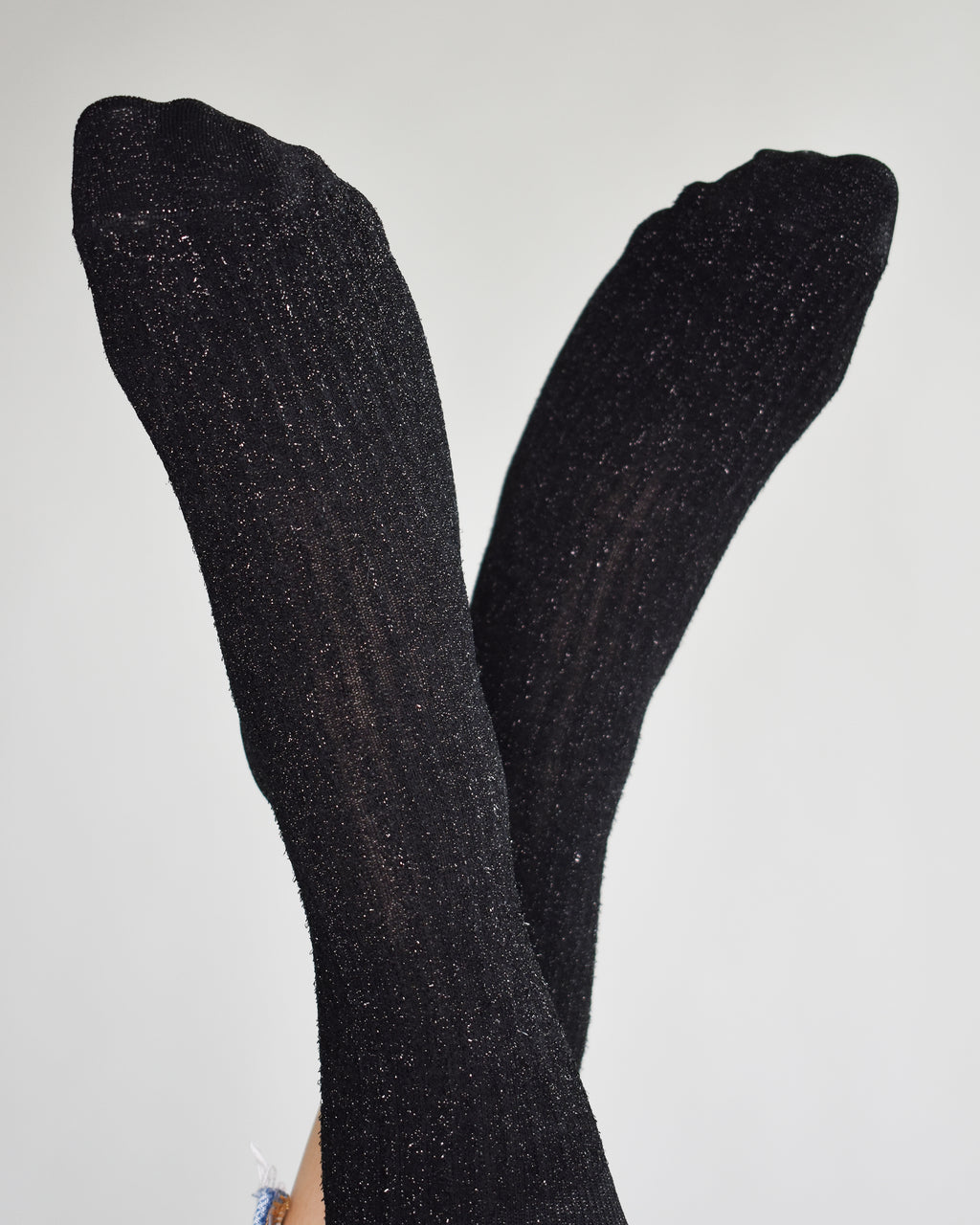 Stella Shimmery Socks - Black