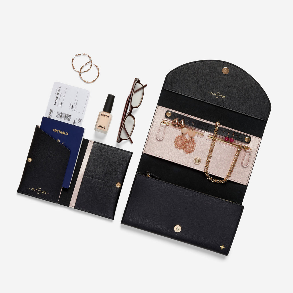 Travel Wallet Set - Nightfall