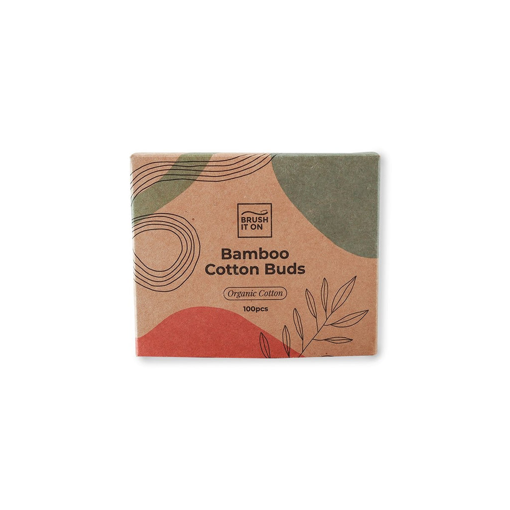 Bamboo Cotton Buds: 100 Pack