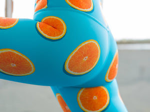 Orange of My Eye Flexi Pants