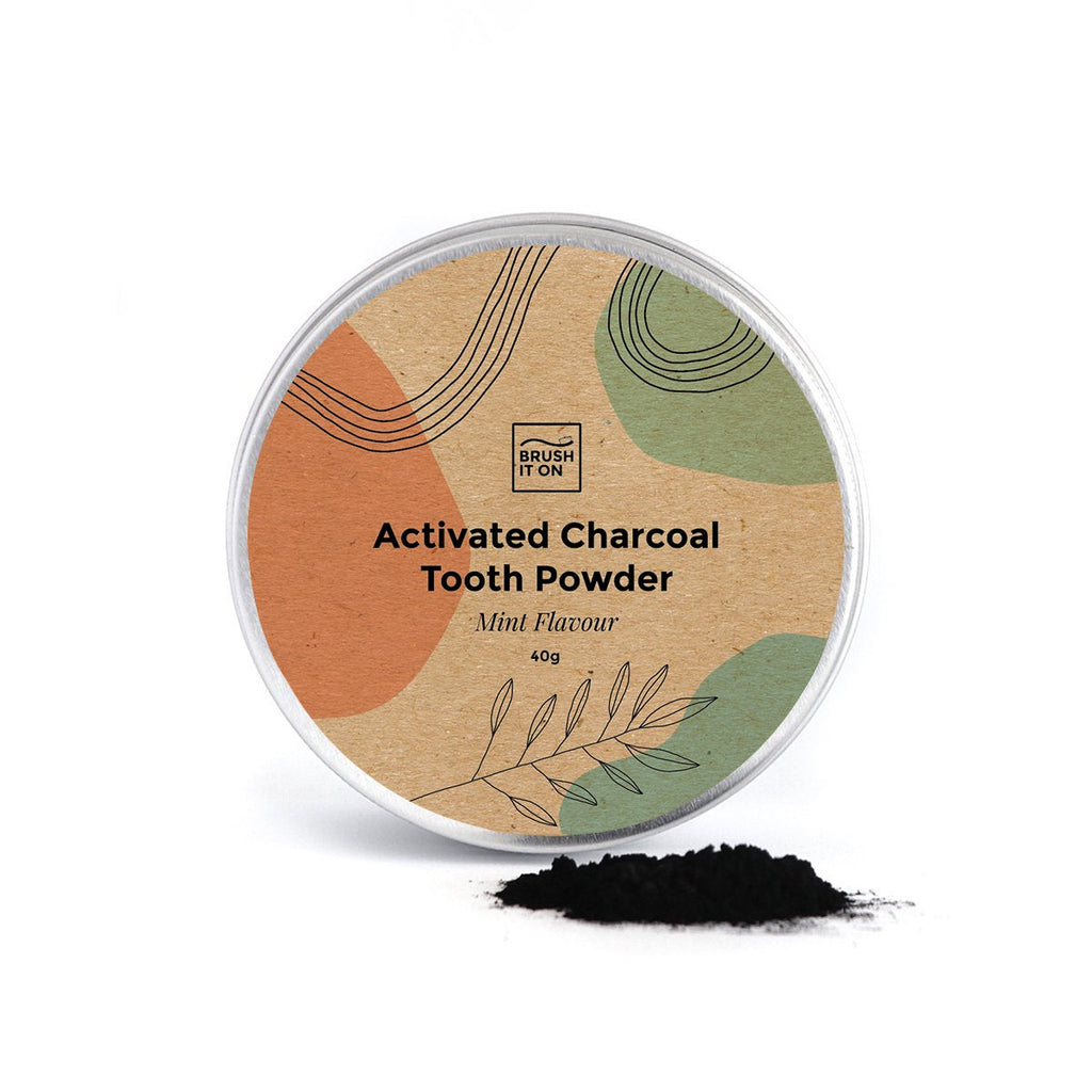 Activated Charcoal Tooth Powder