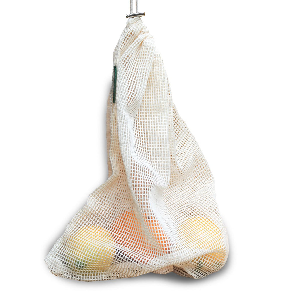 Reusable Mesh Produce Bags: 2 Pack