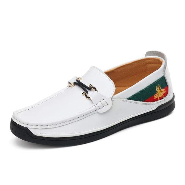 White Dragonfly - Mens Luxury Loafers