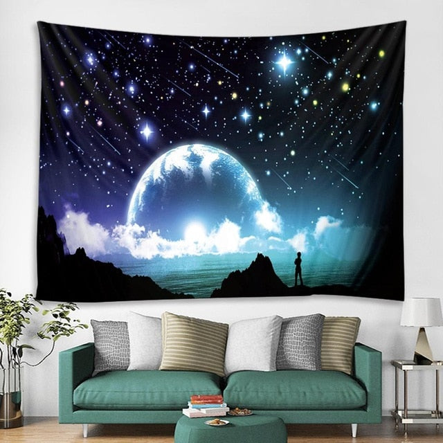 Out of Space Tapestry