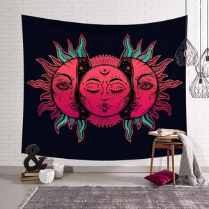 Blood Face Tapestry
