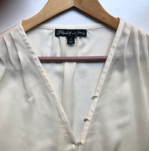 Load image into Gallery viewer, Elizabeth and James Ivory Silk Blouse