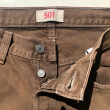 Load image into Gallery viewer, Levi's 501 Chocolate Brown