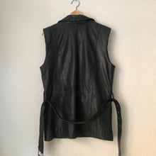 Load image into Gallery viewer, Vintage Long Leather Vest
