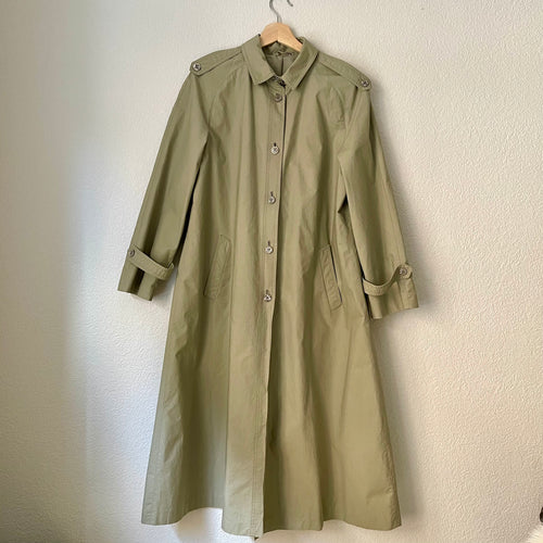 Vintage Trench - Ravens- Made in West Germany