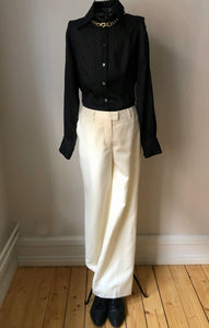 M by Madonna Off White Trousers