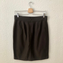 Load image into Gallery viewer, Tulip Silk Mini Skirt