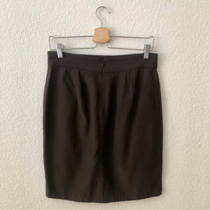 Tulip Silk Mini Skirt