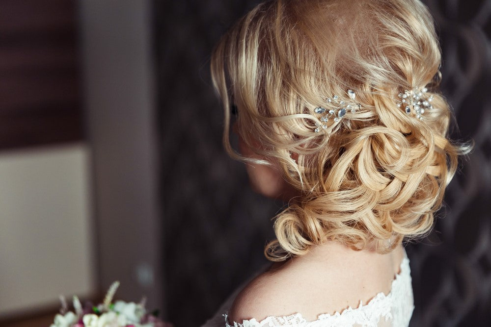 Easy DIY Wedding Hairstyle Hair Pins