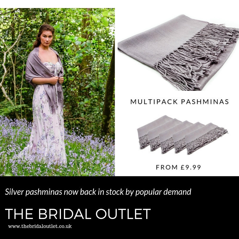 silver pashminas,bridesmaids,cover ups,neutral wedding cover ups,shawls for bridesmaids