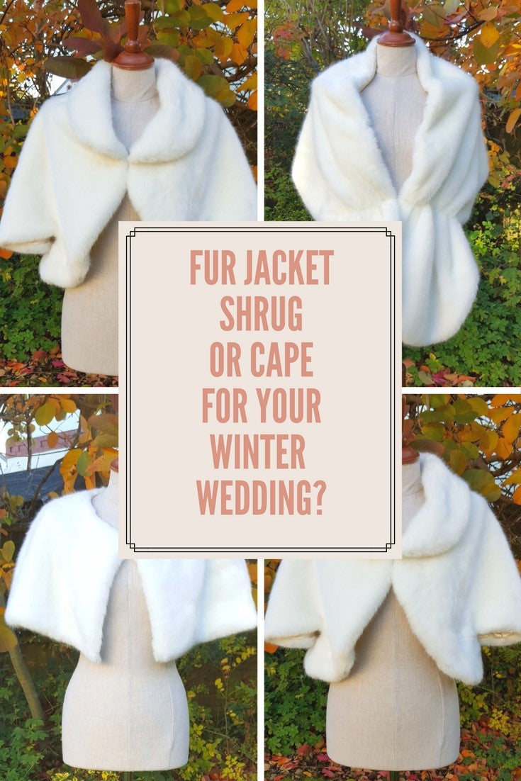 Winter Wedding Shawls