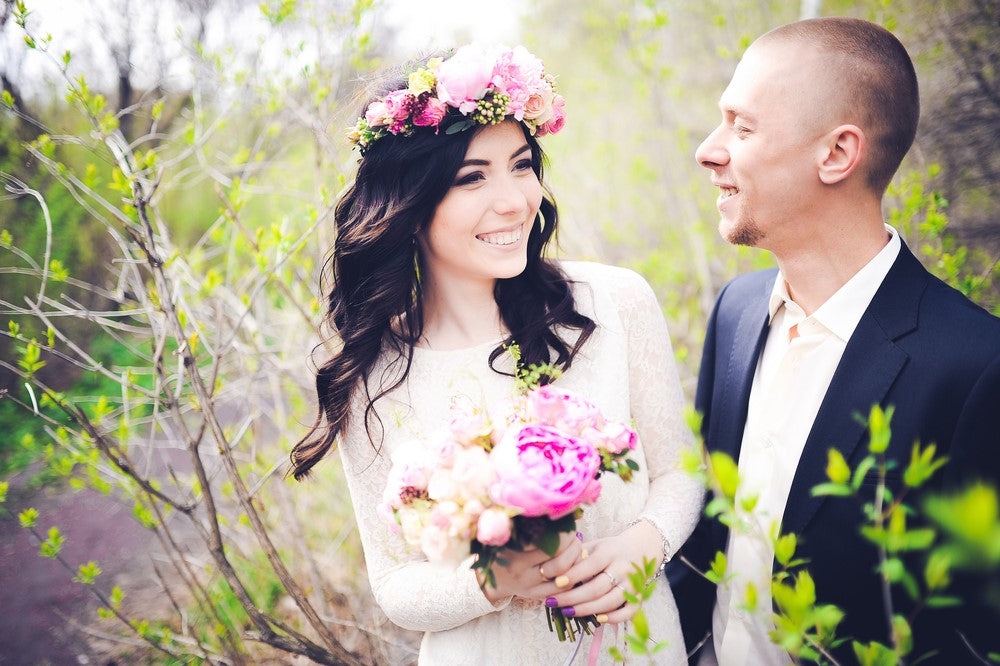 Boho Wedding Flower Crowns