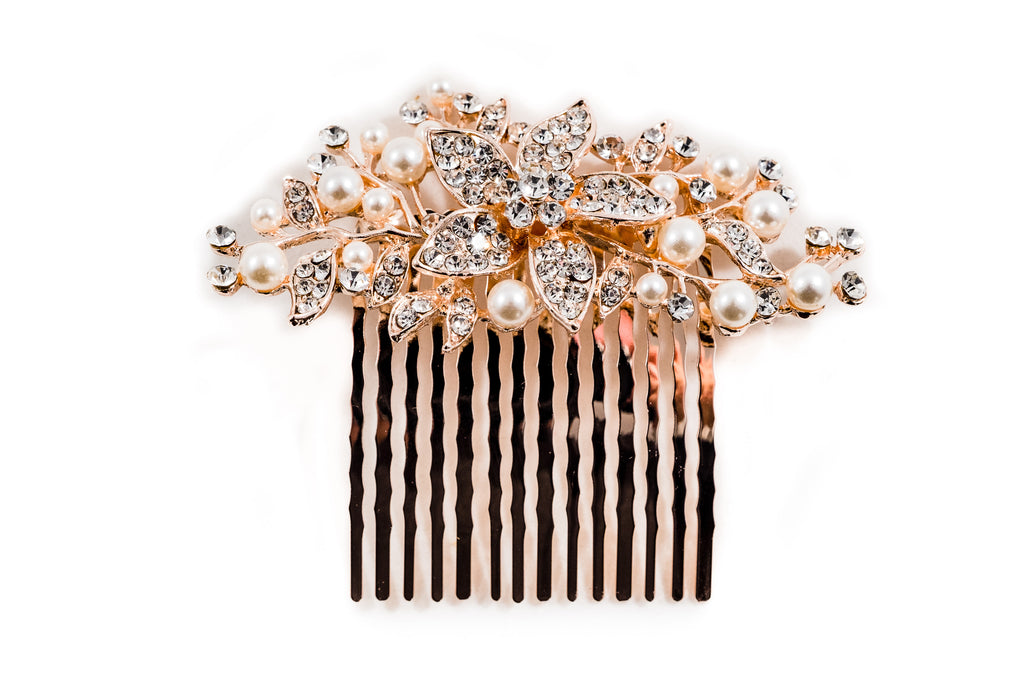 rose gold,hair comb,head piece,head band,bridal
