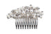 Elegant Pearl Silver Bridal Hair Slide Clip Betty *NOW 30% Off*