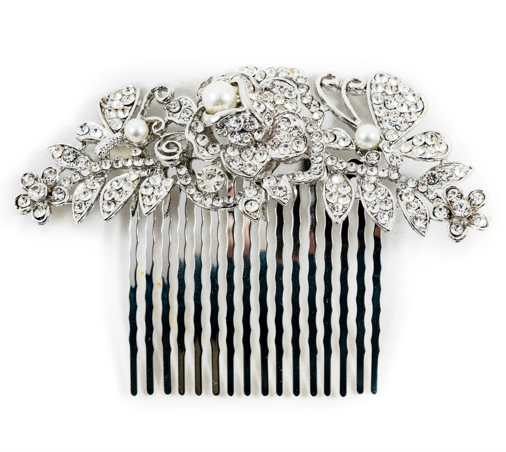 hair slide for wedding bride bridesmaids