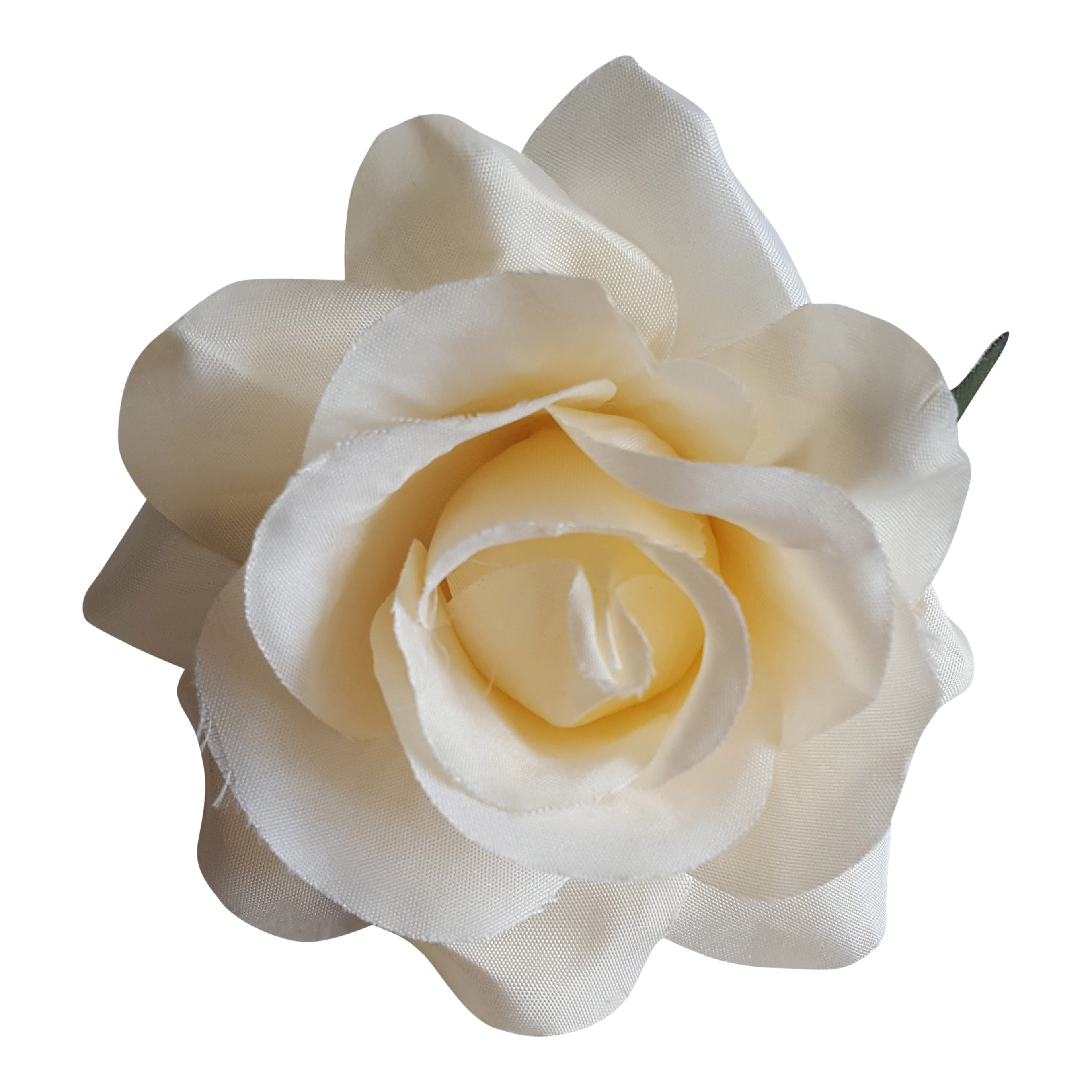 Small Cream Hair Flower Corsage Brooch The Bridal Outlet