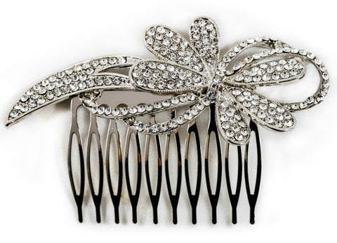 vintage bride hair clip comb headpiece