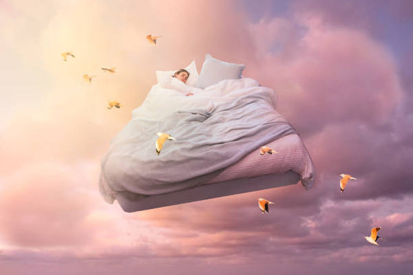 Sleeping in the clouds!