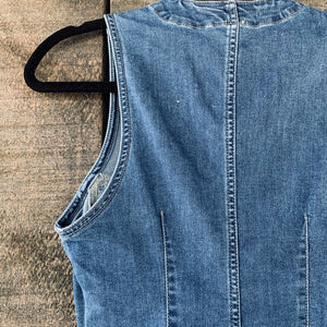 Free People Button-Down Denim Dress