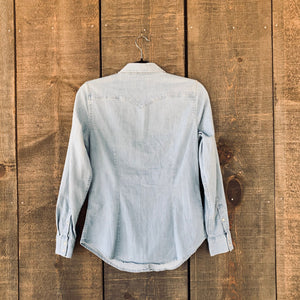 Levi's Pearl Snap Denim Long-Sleeve Button-Down