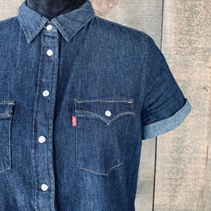 Levi's Short-Sleeve Pearl Snap Button-down