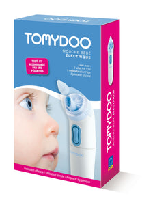 Tomydoo 嬰兒電動吸鼻器連6個吸嘴 Nasal Aspiration with 6 silicone nozzles - ICareMyself