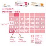 EXACTO - 【組合優惠】8日即知驗孕棒 (性交後八日可驗)+ 高敏感性驗孕棒 EXACTO - [Combo Deal] Early (8th Day After Sex) + Simply Pregnancy Test - ICareMyself
