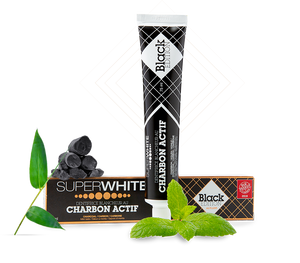 SUPERWHITE® 活性炭牙膏 75 毫升 ACTIVATED CHARCOAL TOOTHPASTE 75ML - ICareMyself