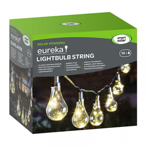 Lightbulb Solar String Lights