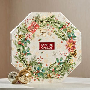 Yankee Candle Wreath Advent Calendar